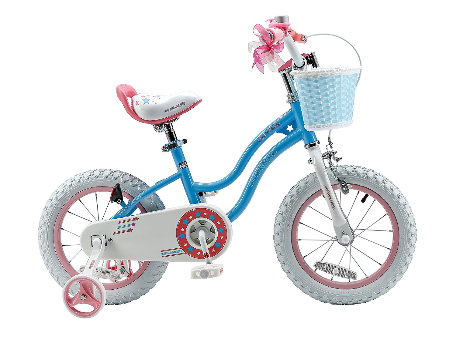 Review of RoyalBaby Stargirl Girl's Bike (12-14-16 Inch, Blue / Pink)
