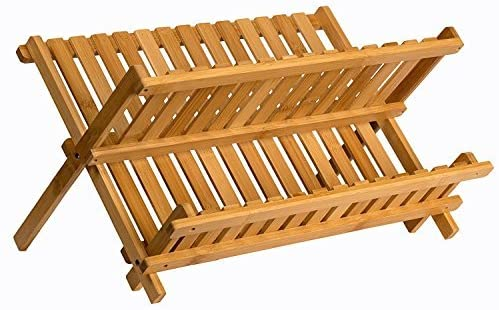 Review of Sagler Bamboo Compact dish drying rack