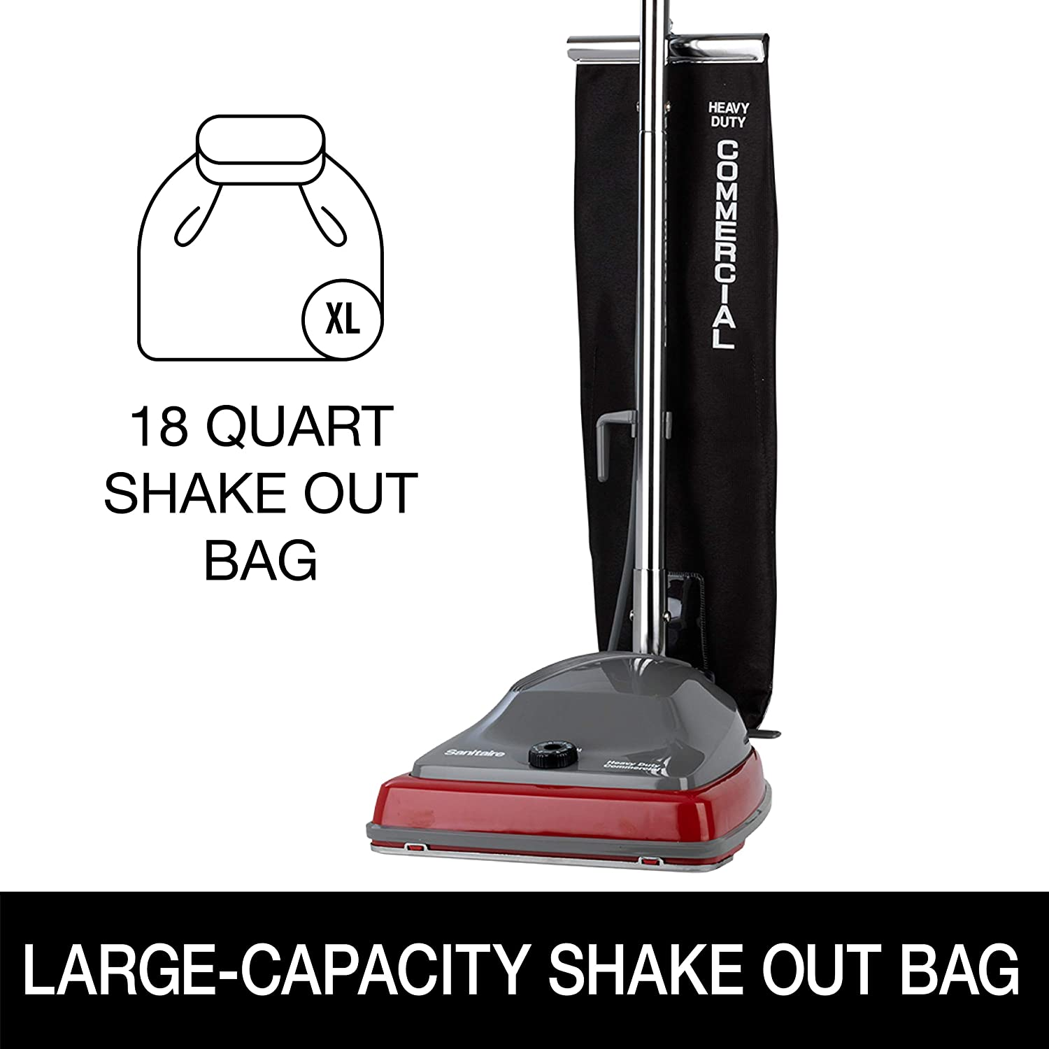 Review of Sanitaire Tradition Upright Commercial Bagged Vacuum, SC679K