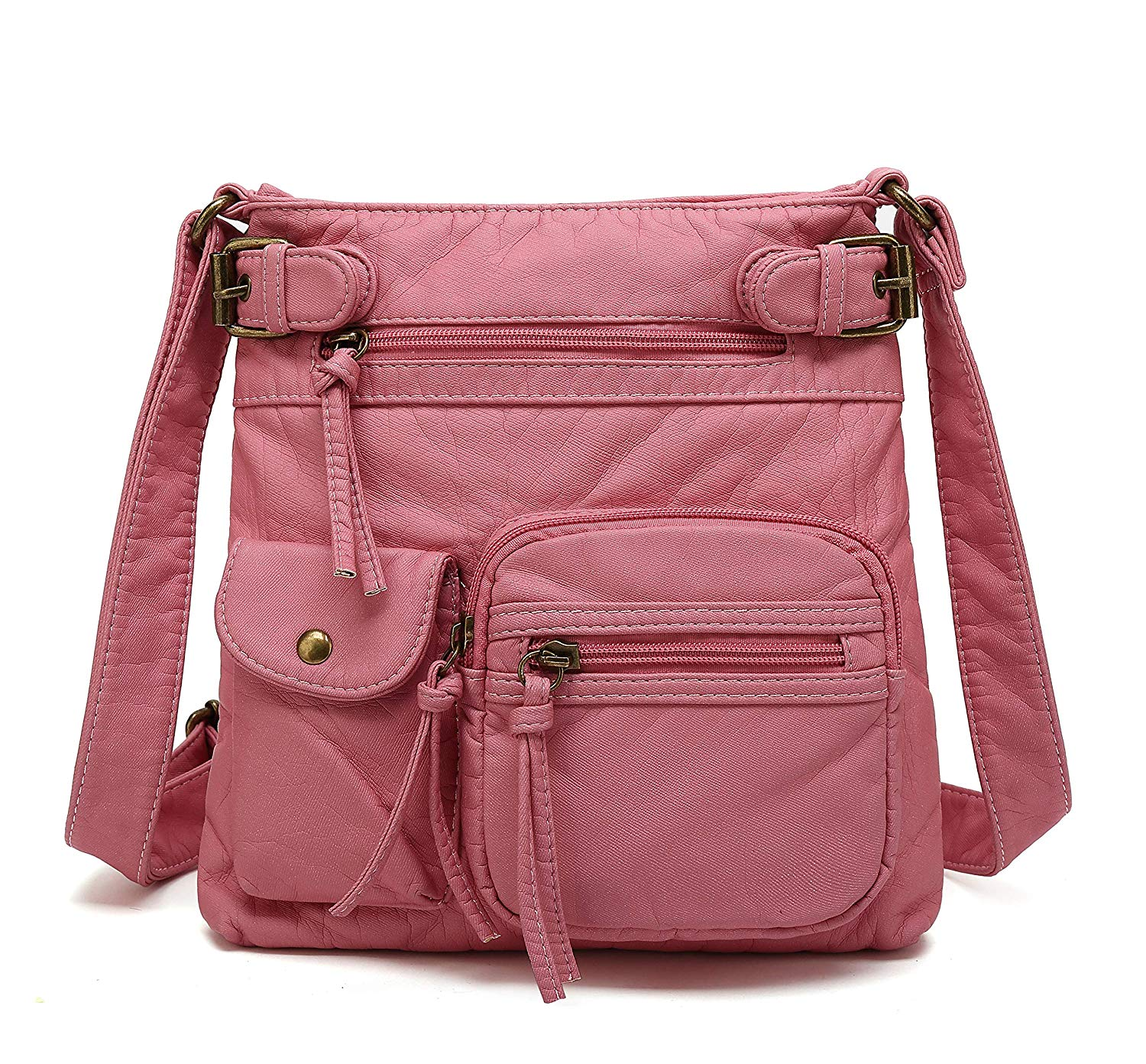 Review of Scarleton Small Multi Pocket Crossbody Bag