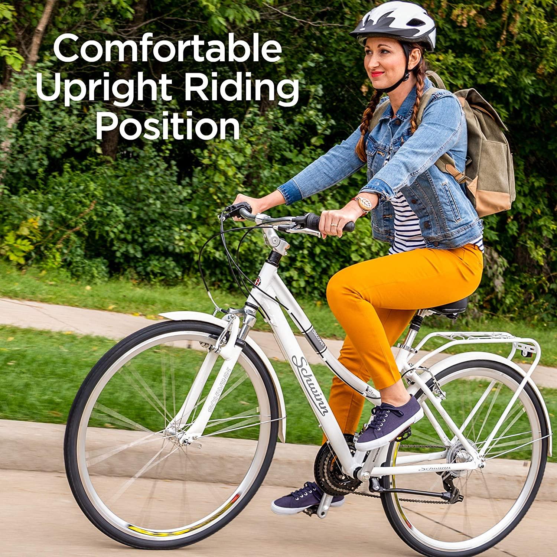 Review of Schwinn Discover Hybrid Bike for Men and Women, 21 Speed, 28-Inch Wheels