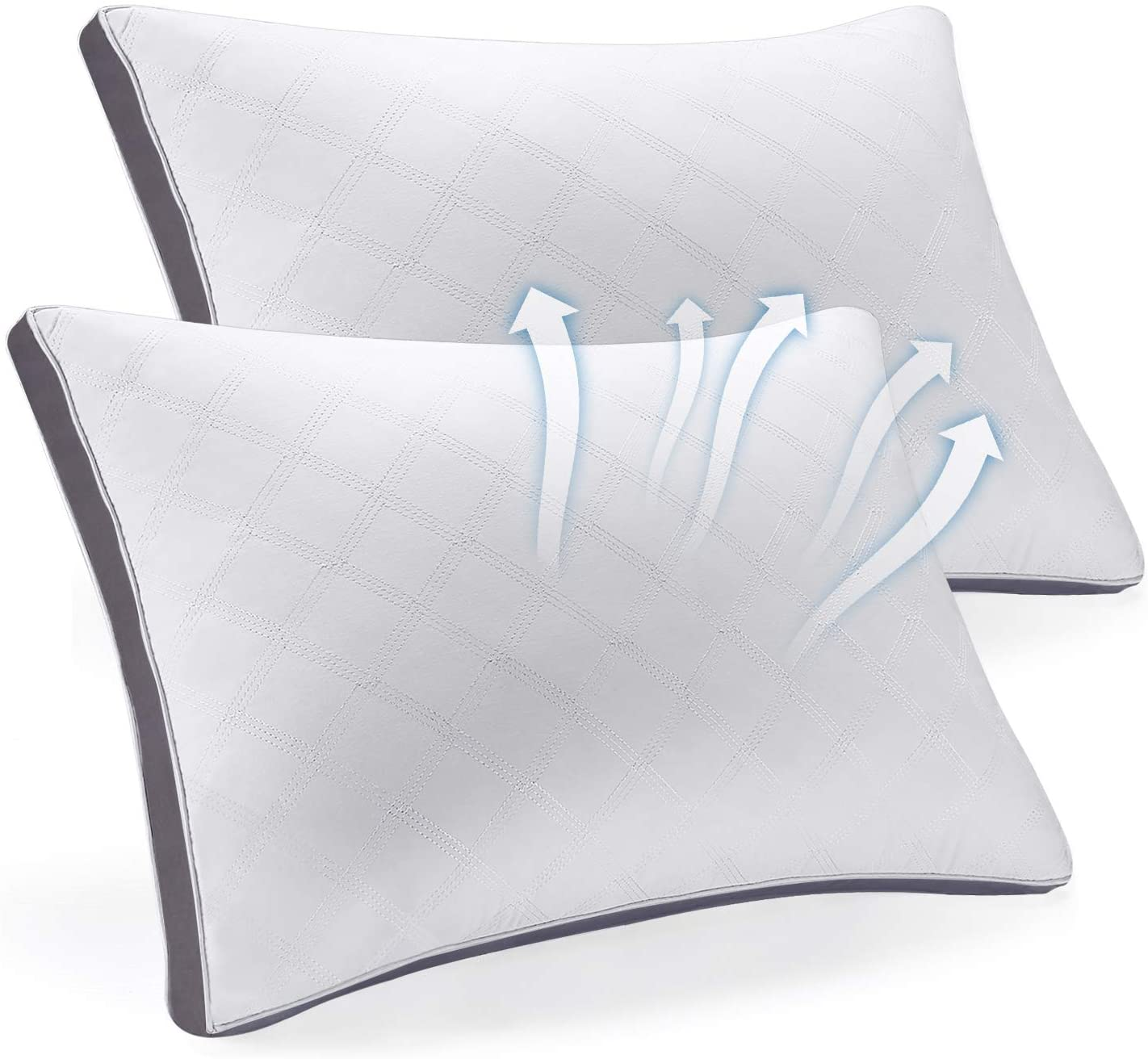 Review of SEPOVEDA Bed Pillows for Sleeping 2 Pack, Hypoallergenic Pillow for Side and Back Sleeper
