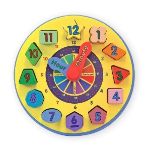 Melissa & Doug Wooden Shape Sorting Clock - Reviews of Top 10 Musical Instruments for kids