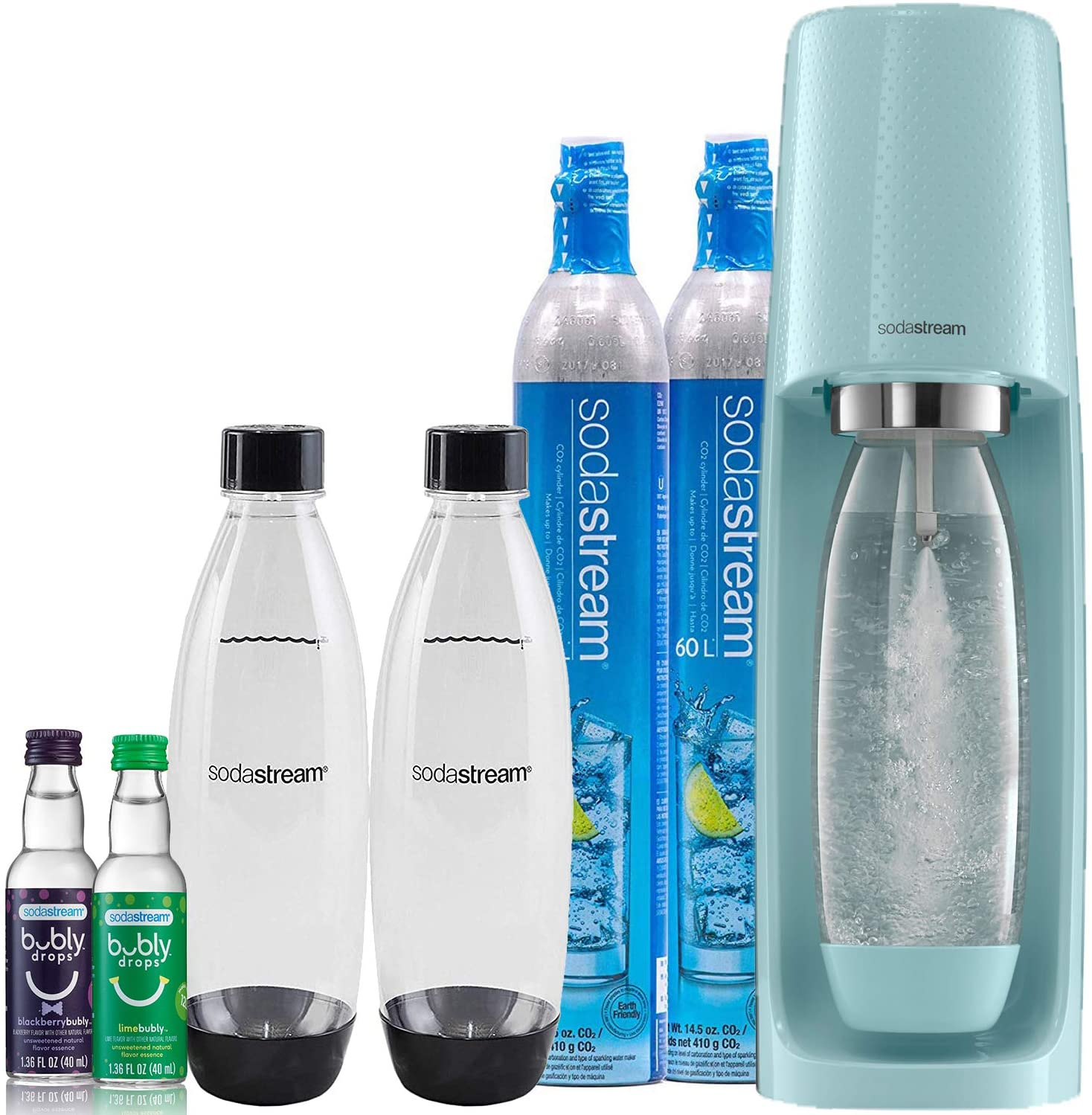 Review of SodaStream Fizzi Sparkling Water Maker Bundle
