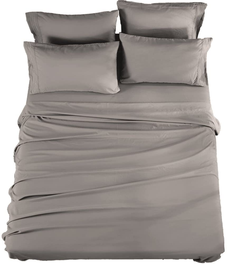 Review of SONORO KATE Bed Sheets Set Sheets Microfiber Super Soft 1800 Thread Count Egyptian Sheets