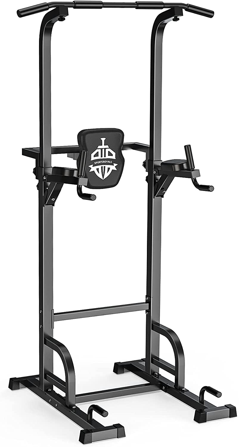 Review of Sportsroyals Power Tower Pull Up Bar, 400LBS.