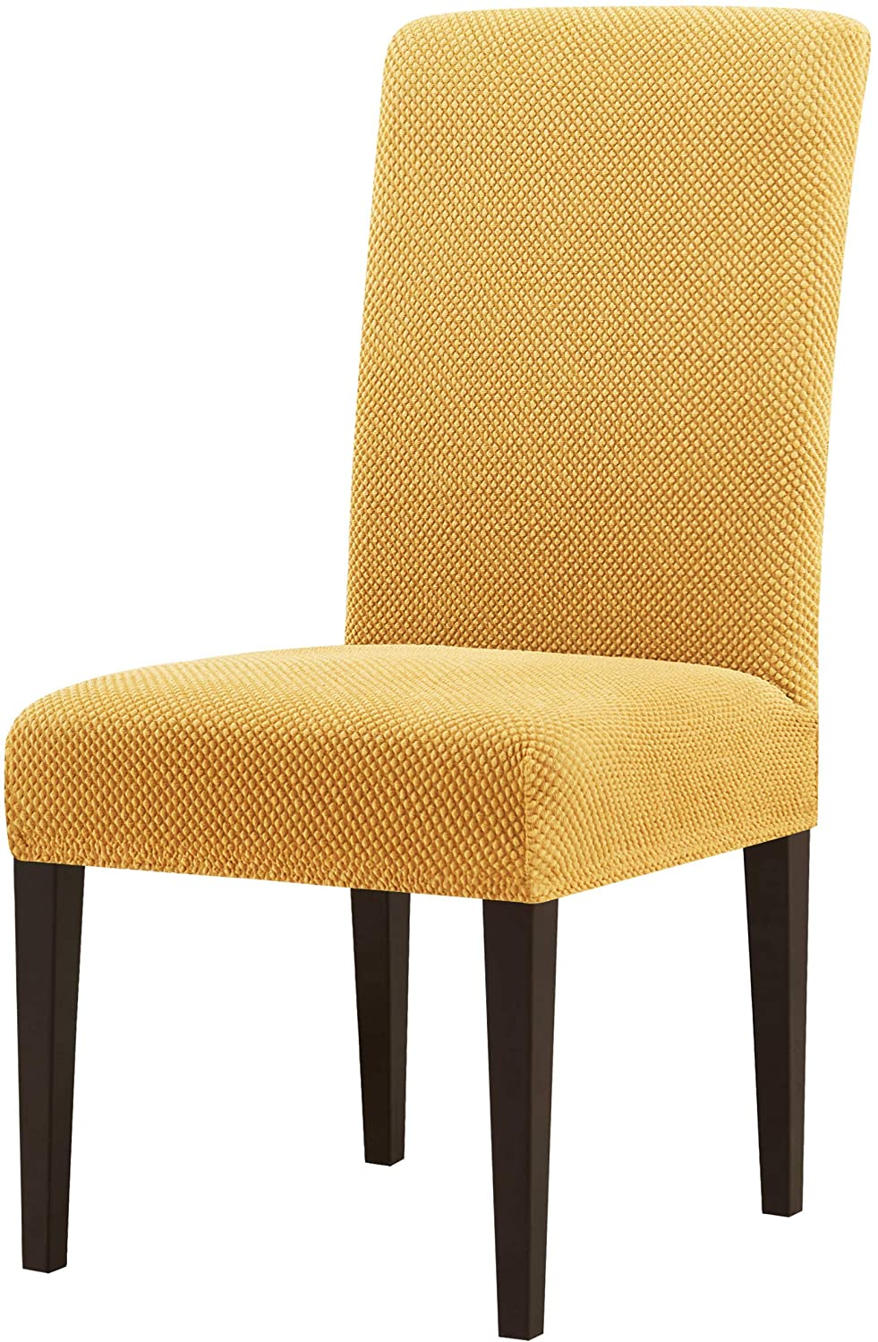 Review of subrtex Dining Room Chair Slipcovers Jacquard Parsons Chair Covers