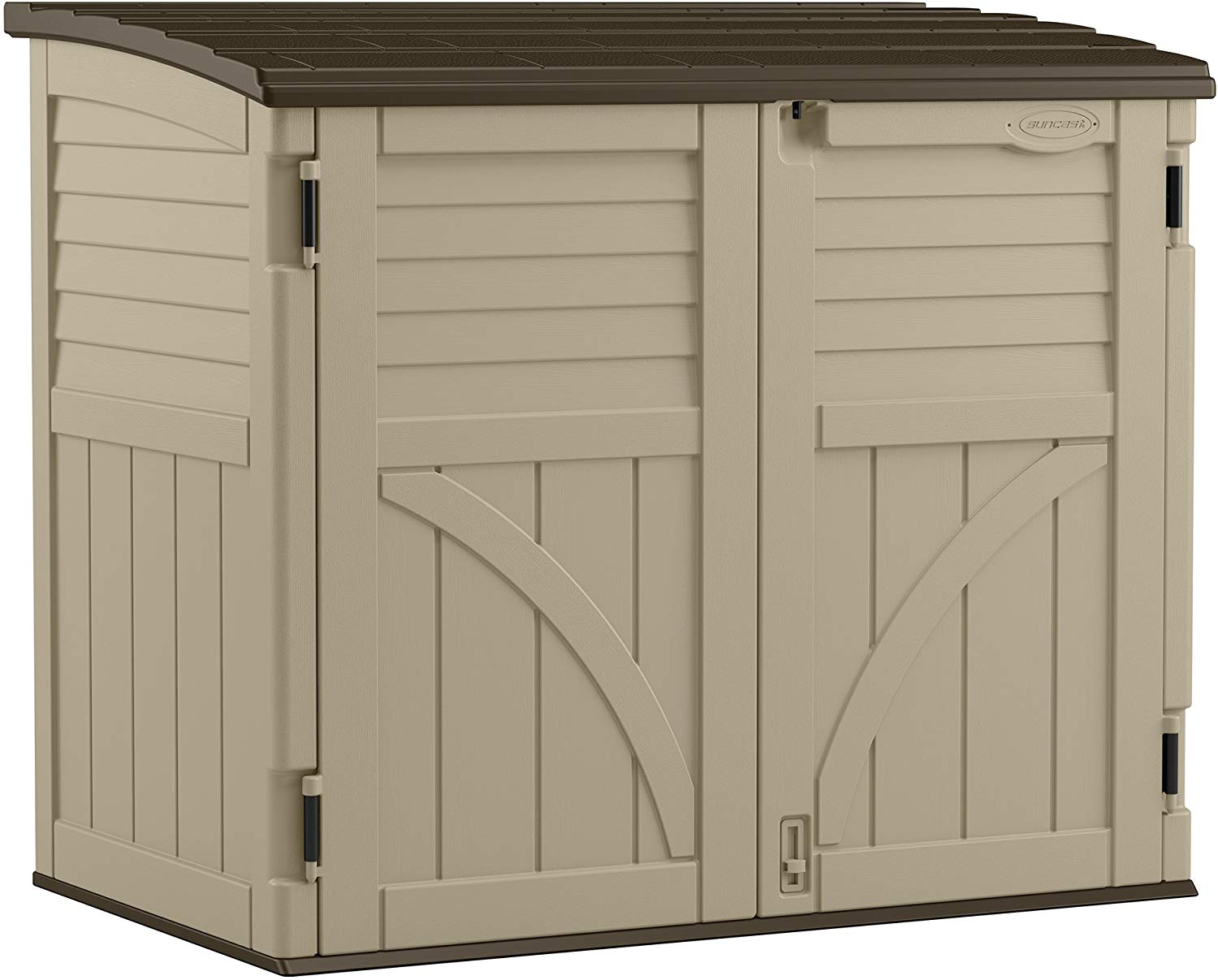 Review of Suncast BMS3400 34 cu. ft. Horizontal Shed
