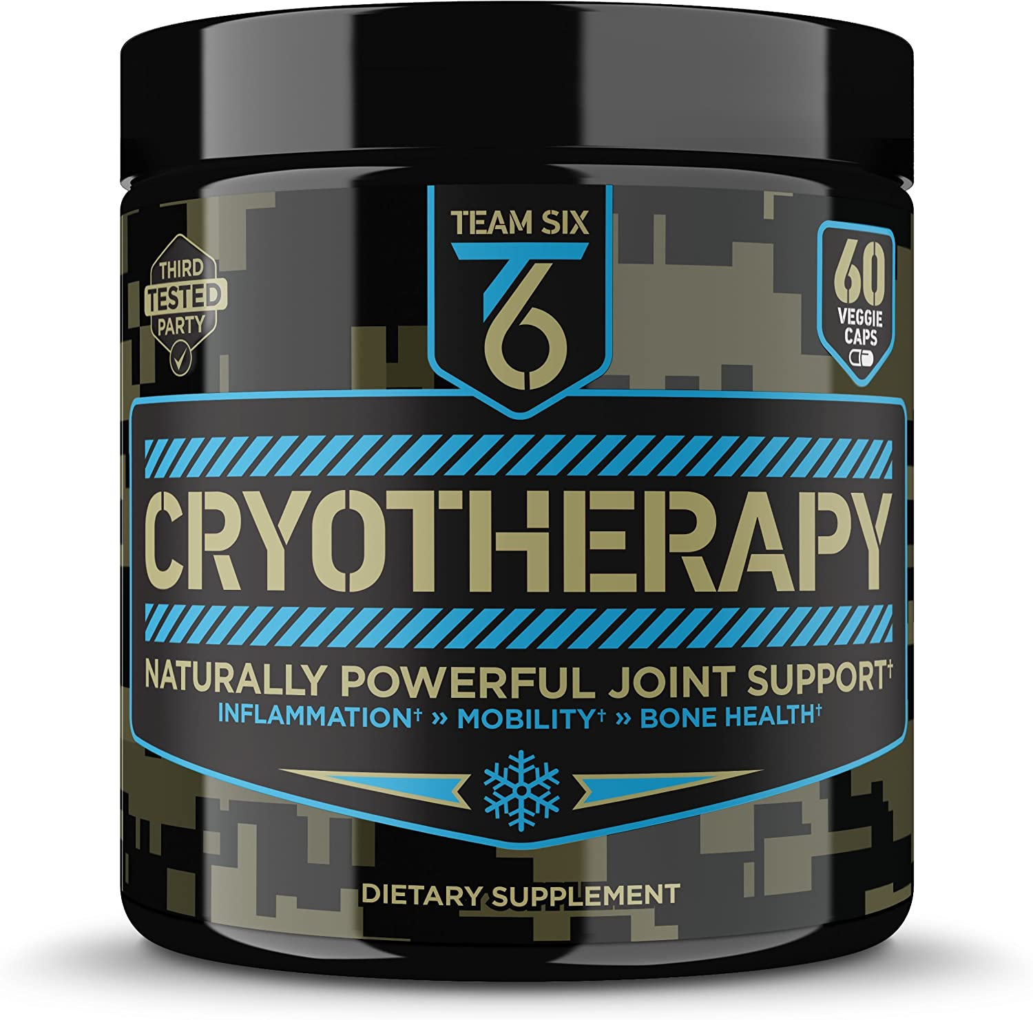 T6 Cryotherapy - Natural Joint Support Supplement | Arthritis Pain Relief