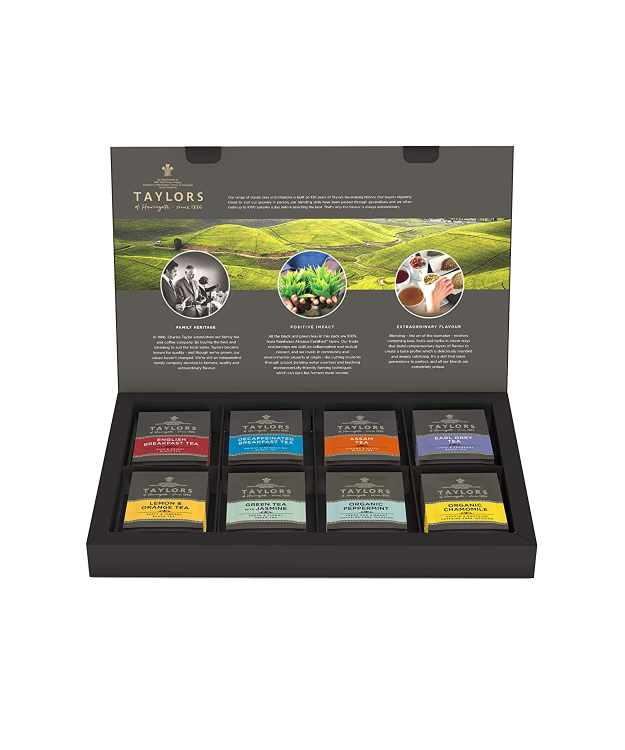Review of Taylors of Harrogate Classic Tea Variety Box, 48 Count (Pack of 1)