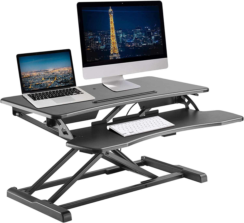 TechOrbits Sit to Stand Desktop Workstation - 32