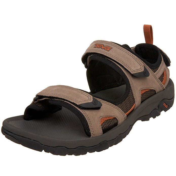Teva Men's Katavi Outdoor Sandal, Walnut