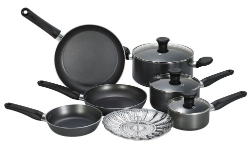 T-Fal Initiatives 10-Piece Nonstick Inside and Out - Reviews of Top 10 BakeWare - Bake Like a Pro