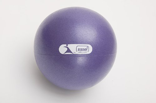 Theragear Pilates Mini Ball, Purple, 9 Inch