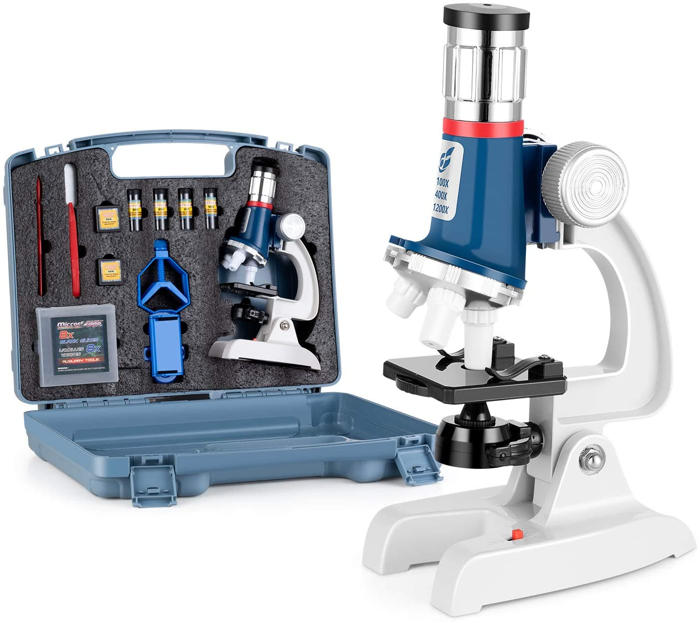 Review of Uarzt 100X-1200X Microscope Science Kit for Kids