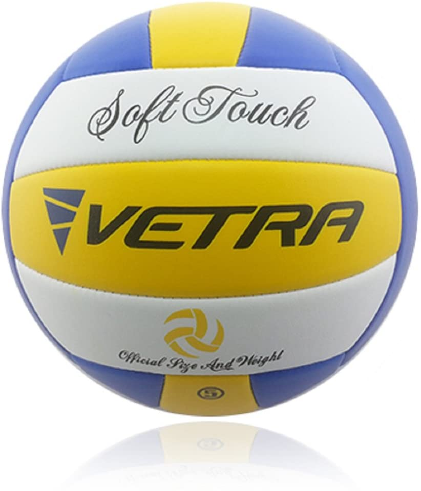 Review of VETRA Volleyball Soft Touch Volley Ball Official (Size 5)