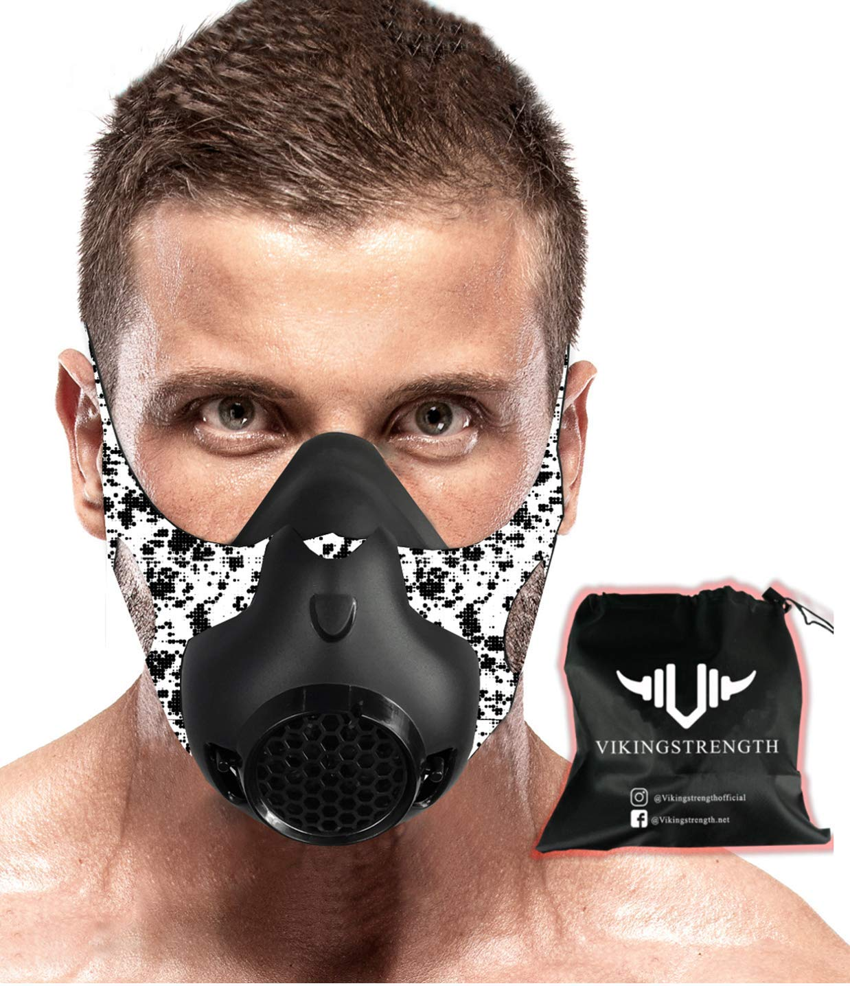 Review of Vikingstrength New 24 Levels Training Workout Mask for Running Biking MMA Endurance