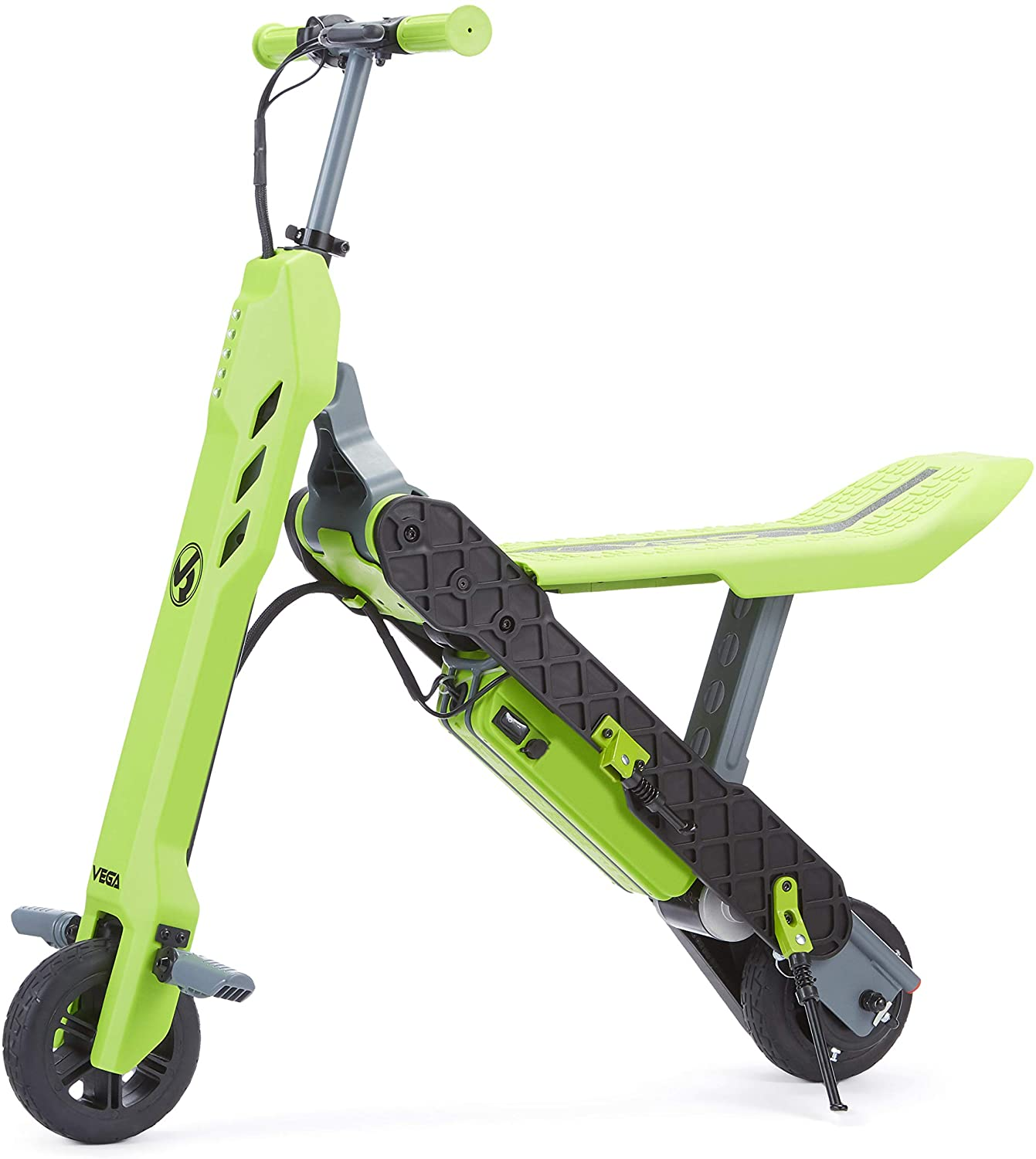 Review of VIRO Rides Vega 2-in-1 Transforming Electric Scooter & Mini Bike, Green