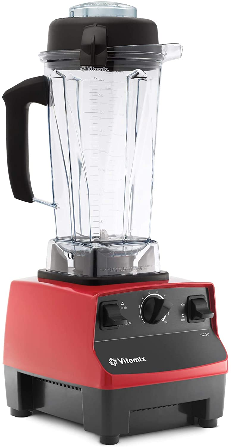 Review of Vitamix 5200 Blender Professional-Grade, Self-Cleaning 64 oz Container, Black - 001372
