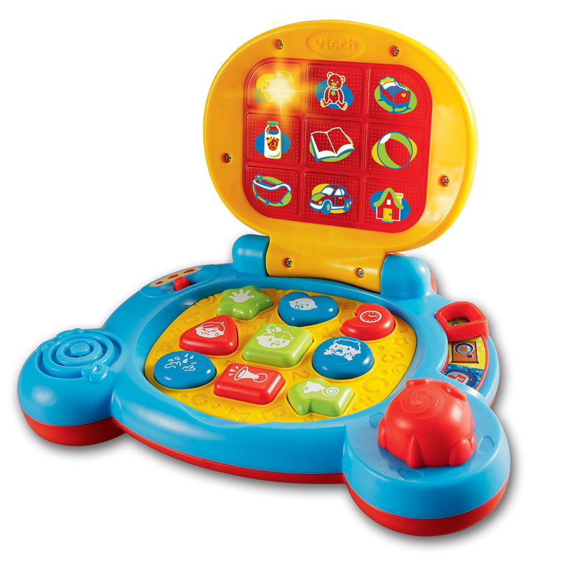 Computer Learning Toys : Review of vtech baby s learning laptop