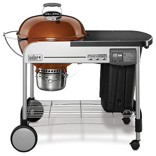 Review of Weber 15502001 Performer Deluxe Charcoal Grill, 22-Inch, Copper