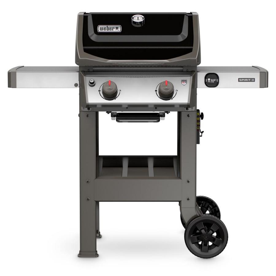 Review of Weber Spirit II E-210 Black 2-Burner Liquid Propane Gas Grill