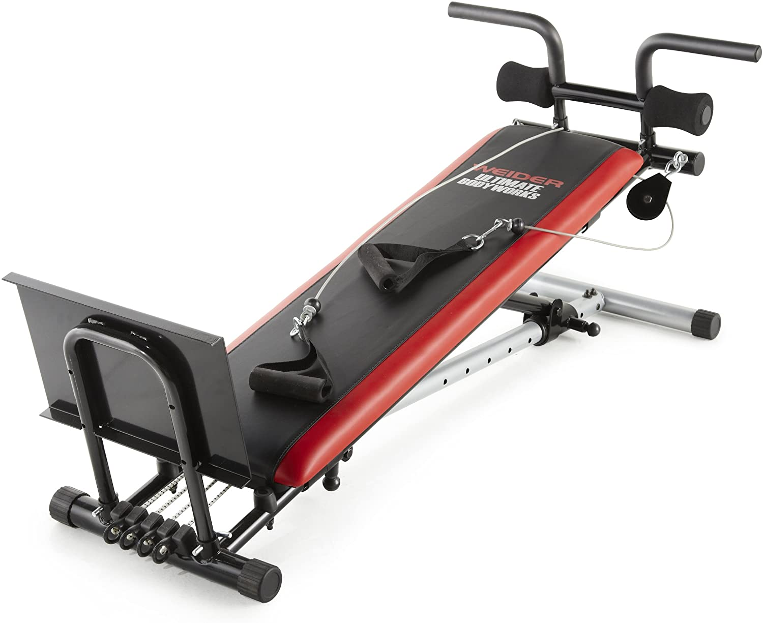 Review of Weider Ultimate Body Works Black/Red, Standard