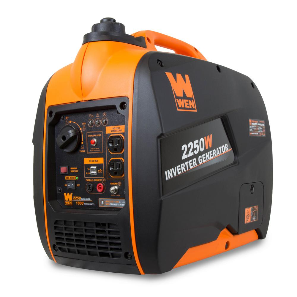 Review of WEN Super Quiet 2250-Watt Gas-Powered Portable Inverter Generator with Fuel Shut-Off