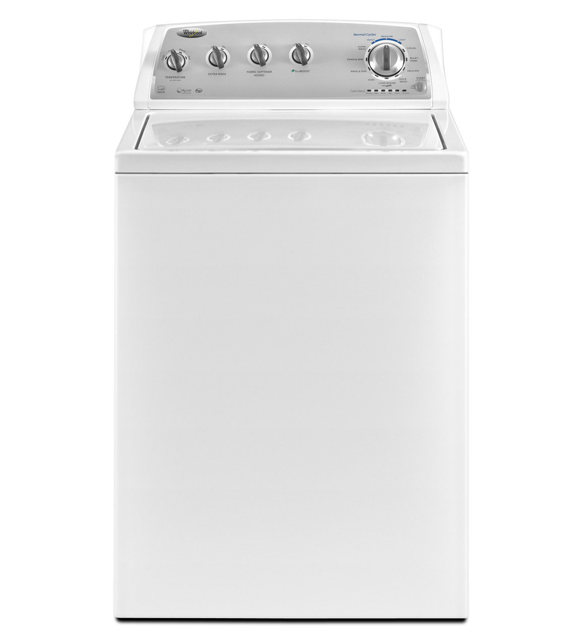 Whirlpool 3.6 cu ft High-Efficiency Top-Load Washer (White) ENERGY STAR (Model: WTW4950XW)