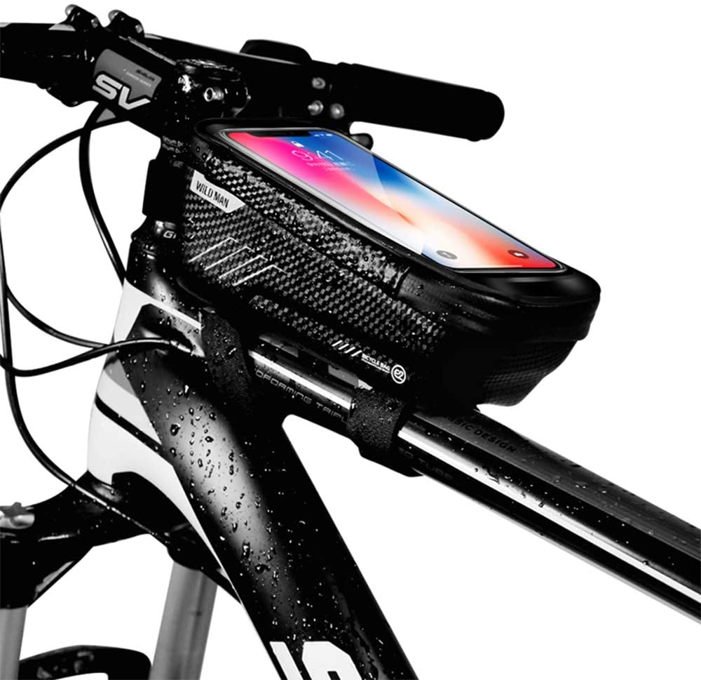 Review of WILD MAN Bike Phone Mount Bag