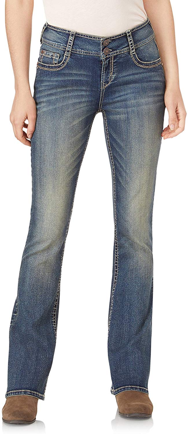Review of Women's Juniors InstaStretch Luscious Curvy Bootcut Jeans
