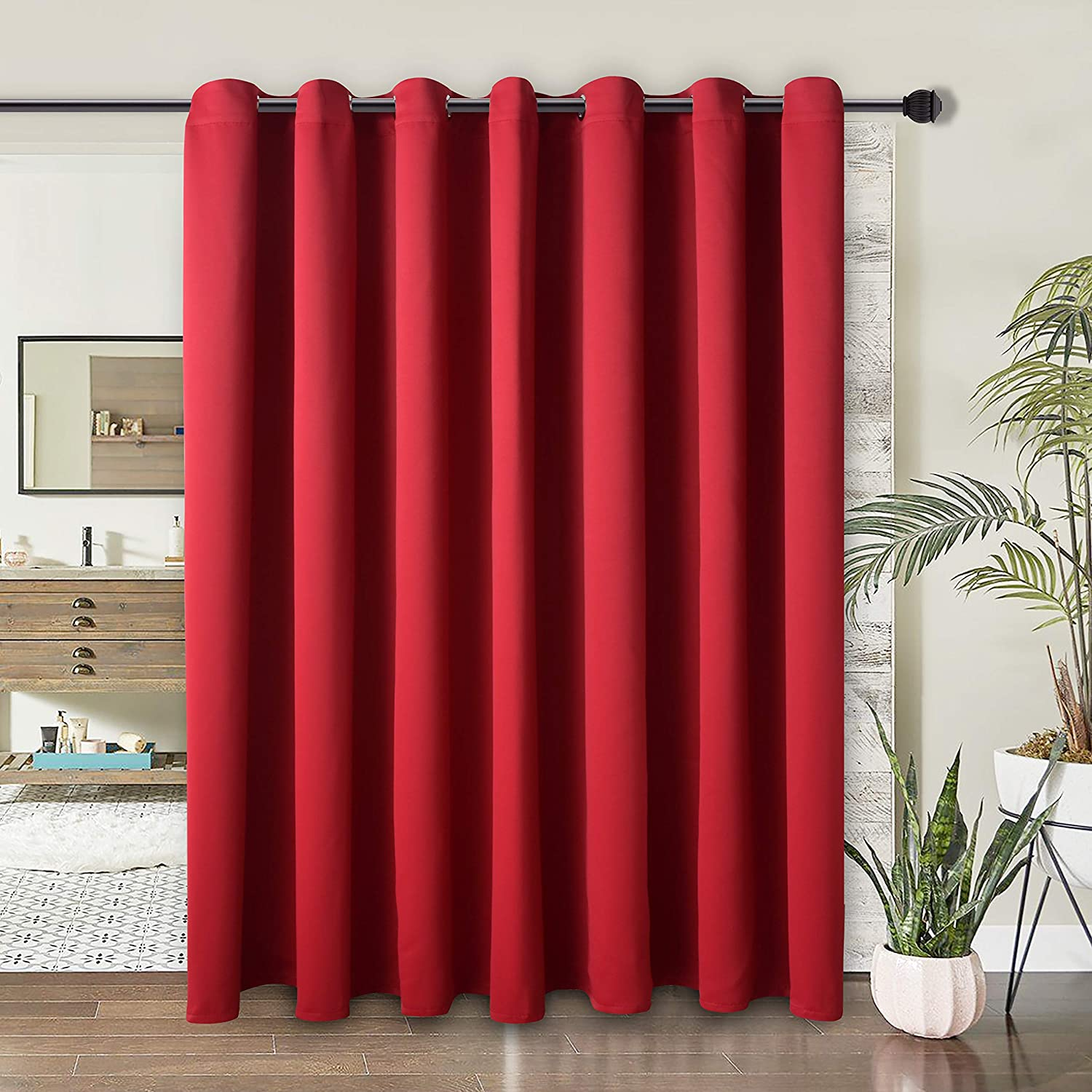Review of WONTEX Room Divider Curtain - Privacy Blackout Curtains