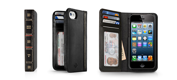 Twelve South BookBook for iPhone 5 - Vintage leather iPhone case and wallet