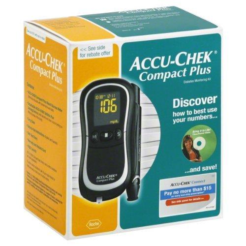 ACCU-CHEK CompactPlus Diabetes Blood Glucose Monitoring Care Kit