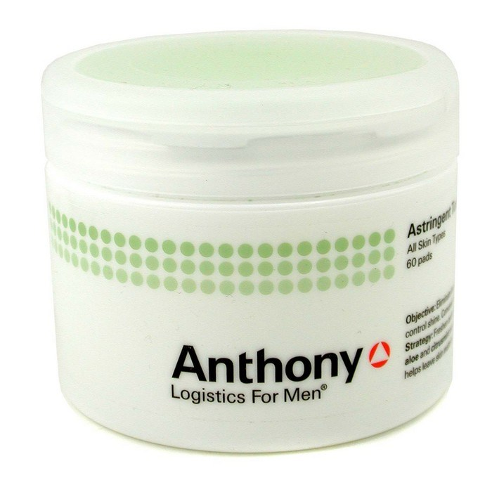 Anthony Logistics For Men Astringent Toner Pads