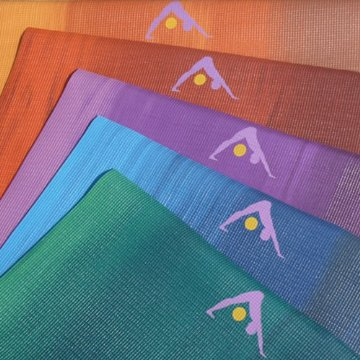 Review of Aurorae Northern Lights Yoga Mat - Ultra Thick, Extra Long with Golden Sun Focal Icon