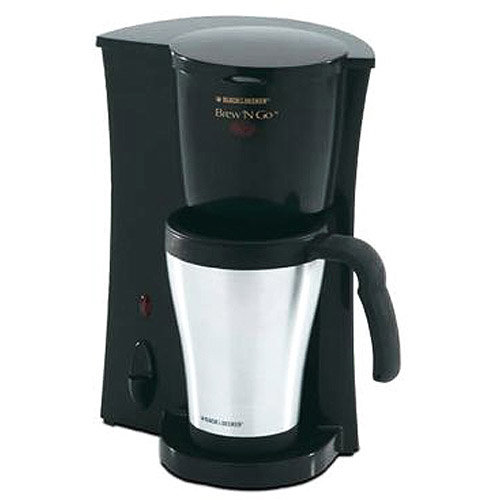 Review of Black & Decker DCM18S Brew 'n Go Personal Coffeemaker with Travel Mug