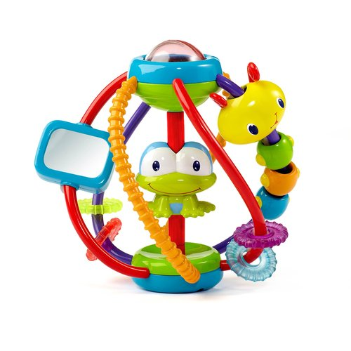 Review of Bright Starts Clack and Slide Activity Ball