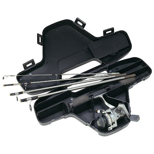 Review of Daiwa Mini System Minispin Ultralight Spinning Reel and Rod Combo in Hard Carry Case