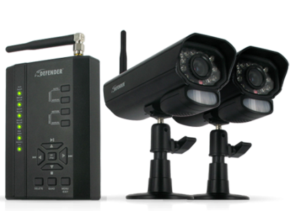 Defender PX301-013 Digital Wireless DVR Security System