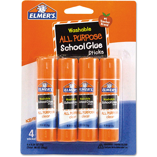 Elmer's Washable All-Purpose School Glue Sticks