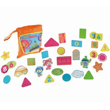 Review of Fisher-Price Team Umizoomi Bathtime Shapes Toys