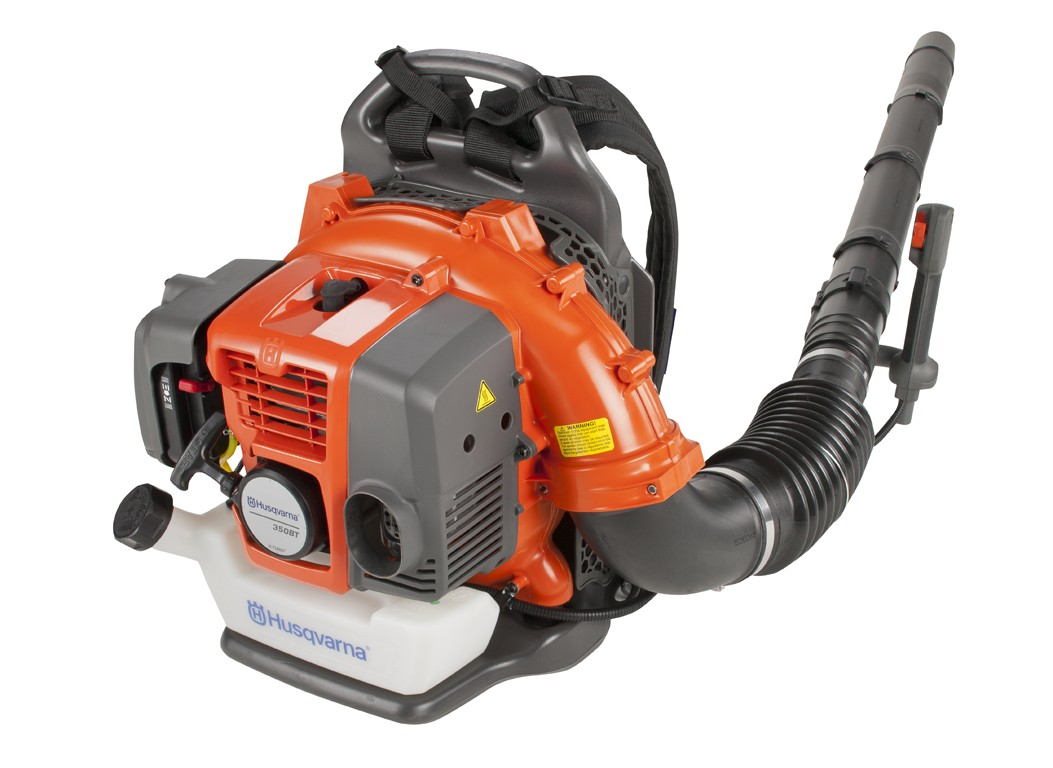 Review of Husqvarna 350BT 50.2cc 2-Cycle X-Torq Gas Powered 180 MPH Midsize Back Pack Blower (CARB Compliant)