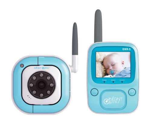 Review of Infant Optics DXR-5 2.4 GHz Digital Video Baby Monitor with Night Vision
