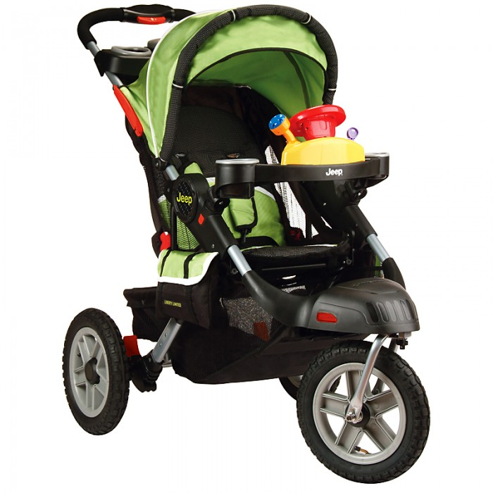 Review of Jeep Liberty Limited Urban Terrain Stroller, Spark Green