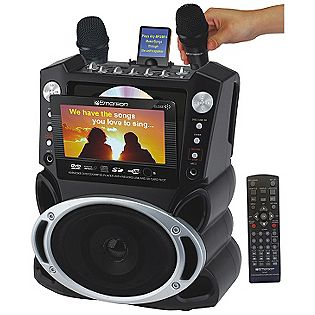 Review of Karaoke USA Karaoke System with 7-Inch TFT Color Screen and Record Function (GF829)