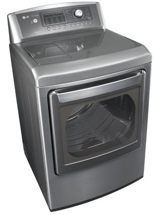 LG Electronics 7.3 cu.ft. Electric Dryer with Steam (Model: DLEX5170W and DLEX5170V)