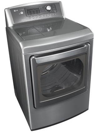 Review of LG Electronics 7.3 cu.ft. Electric Dryer with Steam (Model: DLEX5170W and DLEX5170V)