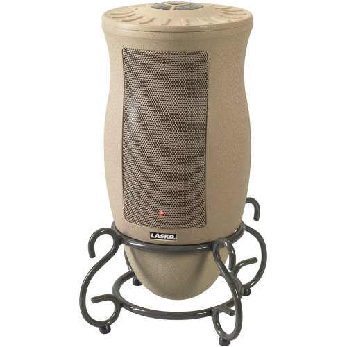 Lasko 6435 Designer Series Ceramic Oscillating Heater with Remote Control