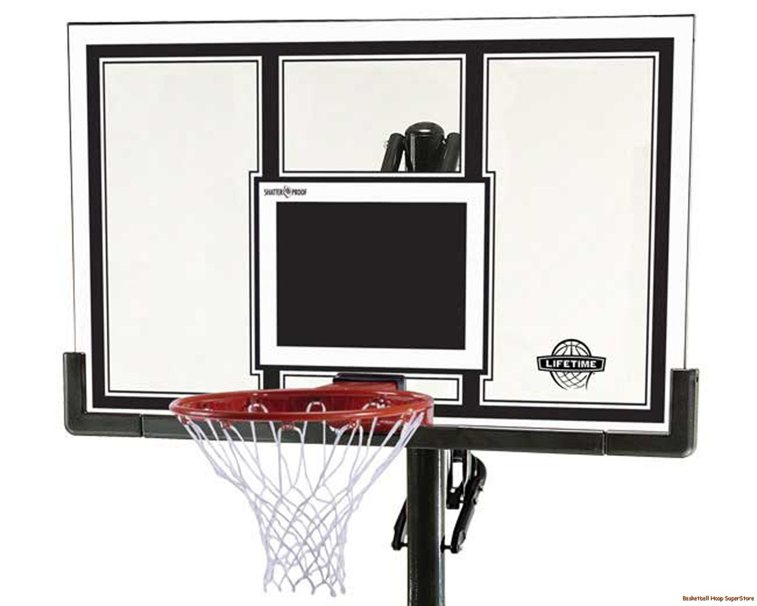 Lifetime 71525 In-Ground Basketball System with 54-Inch Shatter Guard Backboard